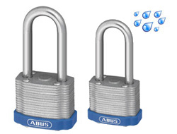 Long Shackle Weatherproof Laminated Padlocks