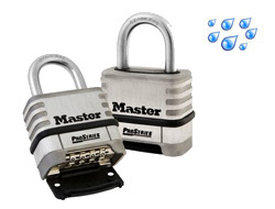 Stainless Steel Combination Padlock