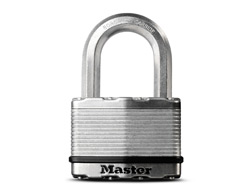 Octagonal Shackle Laminated Padlock