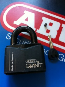 ABUS Granit Padlock Locked