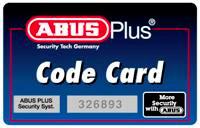 ABUS Code Card