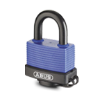 Weather proofed padlocks