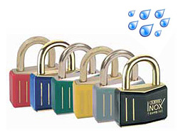 Brass Shackle Safety Padlocks (Keyed Alike)