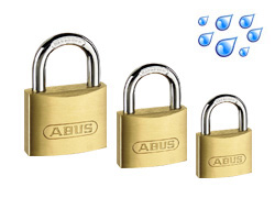 Brass Weatherproof Padlocks (Keyed Alike)
