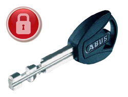 Additional & Replacement ABUS Plus Keys (Padlocks)