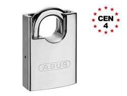 Closed Shackle Hardened Steel Padlock (Keyed Alike)