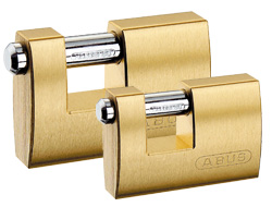 Straight Shackle Shutter Padlocks