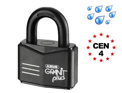 High Security Master Keyed Granit Plus Padlocks