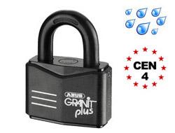 High Security Master Keyed Granit Plus Padlocks