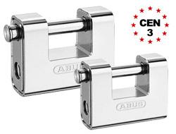Hardened Steel Shutter Padlock (Keyed Alike)