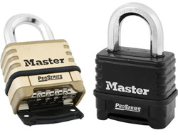 Octaganol Shackle Combination Padlocks