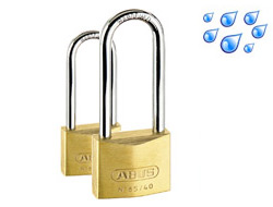 Long Shackle Brass Weatherproof Padlocks