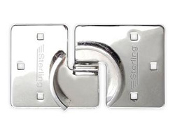 Hasp & Staple for round shackleless locks