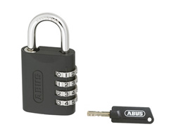 Resettable Master Key Combination Padlock