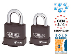 Extreme Padlocks (keyed alike)