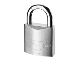 Chrome Plated Brass Padlock