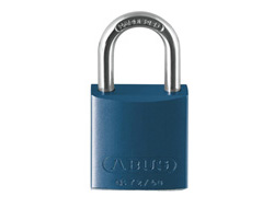 Blue Aluminium Padlock (40mm)