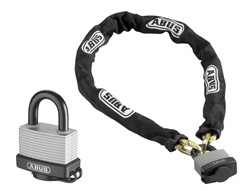 Weatherproof Padlock & Chain Set