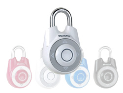 Speed Dial Combination Lock (White)