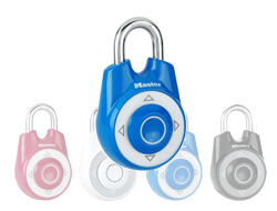 Speed Dial Combination Lock Blue