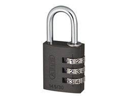 Titanium Aluminium Combination Padlock (30mm)