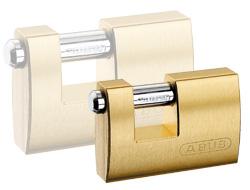 Brass Shutter Padlock (70mm)