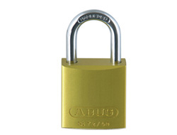 Yellow Aluminium Padlock (40mm)