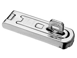 Horizontal Hasp & Staple 100mm