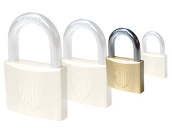 Keyed Alike Brass Padlock (30mm) - Key 301