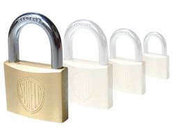 Keyed Alike Brass Padlock (50mm) - Key 501
