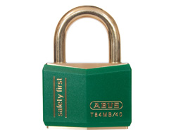 Keyed Alike Safety Padlock Green