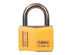 Keyed Alike Safety Padlock Yellow