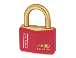 Keyed Alike Safety Padlock Red