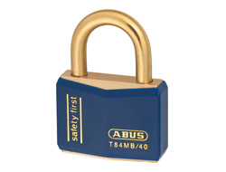 Keyed Alike Safety Padlock Blue