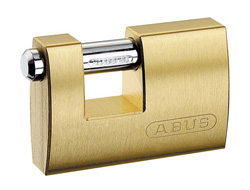 Keyed Alike Brass Shutter Padlock BM 2745 90mm