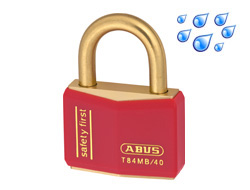 Safety Padlock Red