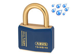 Safety Padlock Blue