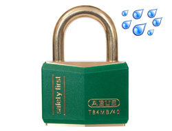 Safety Padlock Green