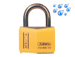 Safety Padlock Yellow