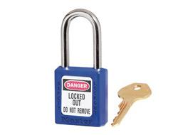 Keyed Alike Zenex Safety Padlock (Blue) 13F012