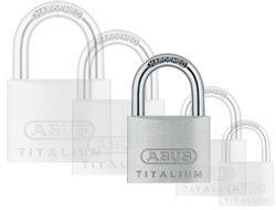 Keyed Alike Titalium Padlock (40mm)