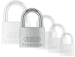 Keyed Alike Titalium Padlock (50mm)