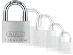 Keyed Alike Titalium Padlock 60mm