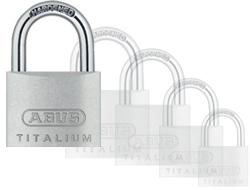 Keyed Alike Titalium Padlock (60mm)