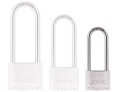 Keyed Alike Long Shackle Titalium Padlock (30mm)