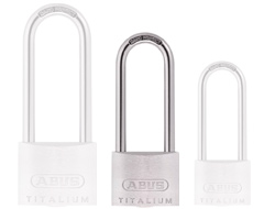 Keyed Alike Long Shackle Titalium Padlock (40mm)