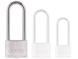 Keyed Alike Long Shackle Titalium Padlock 50mm