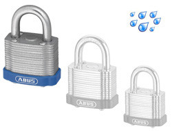 Master Keyed Laminated Padlock 50mm