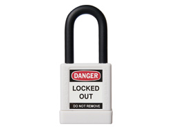 ABUS Lock Out Padlock White