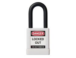 ABUS Lock Out Padlock (White)